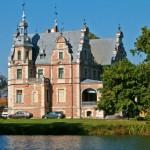Pałac we wsi Kobylniki