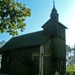 Drewniany kościółek w Słopanowie