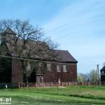 Gogolewo. Drewniany kościół