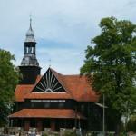 Bukowiec. Drewniany kościół św. Michała z 1737-42r