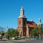 Czerniejewo. Kościół z XVI w, przebudowany