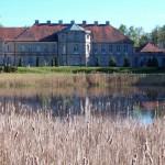 Czerniejewo. Pałac od strony ogrodu