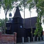 Brody. Drewniany kościół św. Andrzeja z 1670-73r.