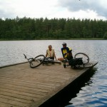 Krótki odpoczynek nad Jeziorem Długim