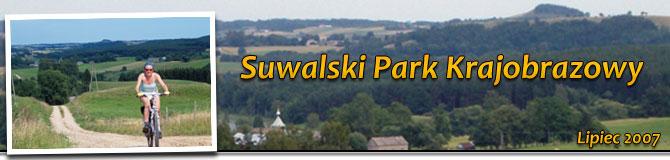 Rowerem przez Suwalski Park Krajobrazowy