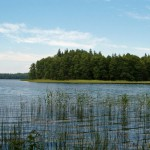 Jezioro Hańcza. Widok z Głazu Granicznego