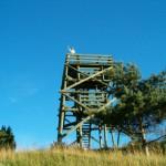 Okolice Krusznika – jedna z wielu wież widokowych na jezioro Wigry.