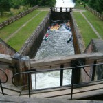 Śluza Paniewo. Jedyna śluza dwukomorowa na kanale Augustowskim po stronie Polskiej