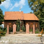 Mączniki. Drewniany kościół św. Wawrzyńca z ok 1700 r