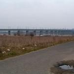 Most kolejowy przez Wartę