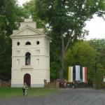 Dębno. Dzwonnica z 1829 r.