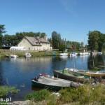 Nowa Pasłęka – port i dom rybaka