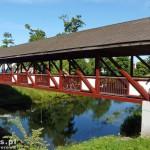 Mostek przez Pasłękę