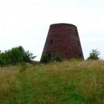 Ruiny wiatraka w Łęczu