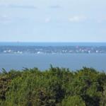 Widok na zalew i Krynicę Morską