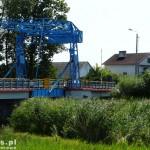 Rybina. Most zwodzony na Wiśle Królewieckiej