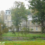 Bzowo. Pałac i park z ok. 1880 r
