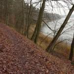 Czerwony szlak pieszy nad J. Góreckim