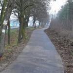 Nowa nawierzchnia asfaltowa na ścieżce rowerowej w Łęczycy