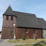 Kosieczyn. Modrzewiowy kościół z 1408 roku