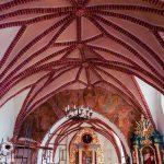 Sklepienie w kościele w Jaszkowie