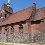 Wilkowo. Kościół w stylu neogotyckim z 1908