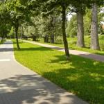Międzyrzecz. Promenada i ścieżka rowerowa nad Obrą