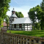 Święty Wojciech. Szachulcowy kościółek z 1768r
