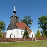 Łagówek. Kościół z XVIII w