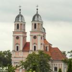 Sieraków. Kościół parafialny pobernardyński nazywany perłą Sierakowa.