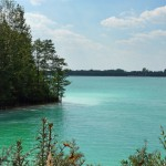 Osadnik Gajówka zwany lazurowym jeziorkiem