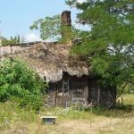 Łazy Małe. Stara chata