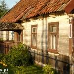 Narew. Drewniany dom