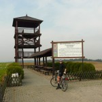 Wieża widokowa na Wale Wydartowskim 167 m n.p.m.