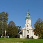 Dąbrówka Kościelna. Sanktuarium Maryjne.