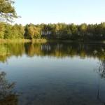 Jeziorko w drodze do Owińsk