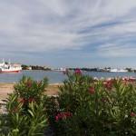 Port. Z Zadaru wypływa wiele promów wycieczkowych jak i tych kursujących regularnie pomiędzy wyspami.