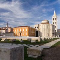 Rowerem do Zadaru. Zadar - Petrcane