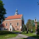 Krajenka. Były zamek zaadaptowany na kościół pw. św. Anny