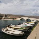 Zatoczka i mostek w Pagu