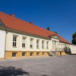 Krajenka. Pałac Sułkowskich obecnie mieści się w nim gimnazjum