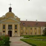 Zespół klasztorny bernardynów. Obecnie dom opieki społecznej