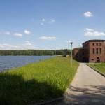 Elektrownia wodna na Gwdzie w Jastrowiu.