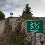 Do miejscowości Kolan można dotrzeć szlakiem rowerowym