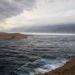 Wzburzone wody zatoki
