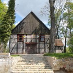 Kościół pw. św. Józefa w Zdbowie, szachulcowy o konstrukcji słupowo – ramowej