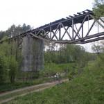 Most kratownicowy na rzece Korytnicy