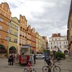 Jelenia Góra. Tramwaj – informacja turystyczna. Ps. tramwaj przyjechał z Poznania