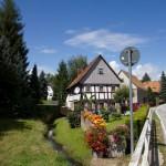 Domy łużyckie w Wittgendorf