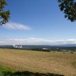 Widok na stronę polską – elektrownia Turów